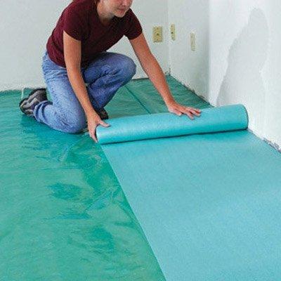 Plávajúce podlahy, montáž